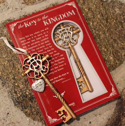 Key to the Kingdom Ornament