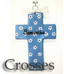Personalized Crosses for Baby
