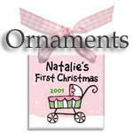 Personalized Ornaments for Baby, Toddler and Children