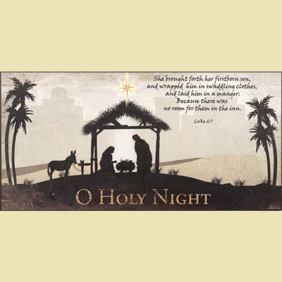 Oh Holy Night Wall Print_LARGE