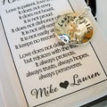 LOVE - 1 Corinthians 13 Sterling Silver Personalized Pendant Mini-Thumbnail