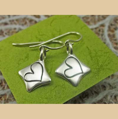 Heart full of Love Sterling Earrings