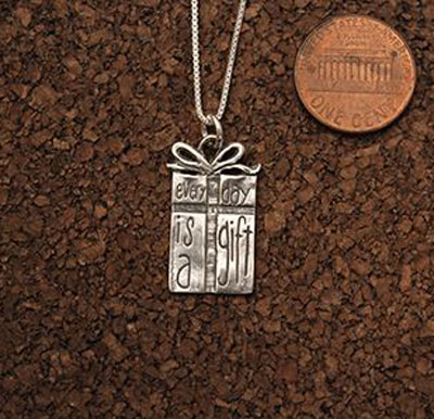 Everyday is a Gift... Necklace LARGE