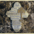 Galatians 5:22-23 Wall Cross THUMBNAIL