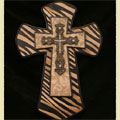 "Zebra 14"" Wall Cross_THUMBNAIL"