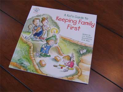 Keeping Family First Book LARGE