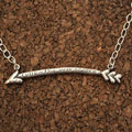Follow the Way of Love... Christian Necklace