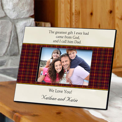 Personalized Father's Day Frame-Gift From God LARGE