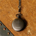 Personalized Inspirational Pocket Watch with Cross Mini-Thumbnail