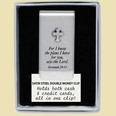 Jeremiah 29:11 Money Clip LARGE