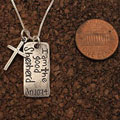 The Good Shepherd Sterling Silver Necklace SWATCH