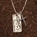 The Good Shepherd Sterling Silver Necklace THUMBNAIL