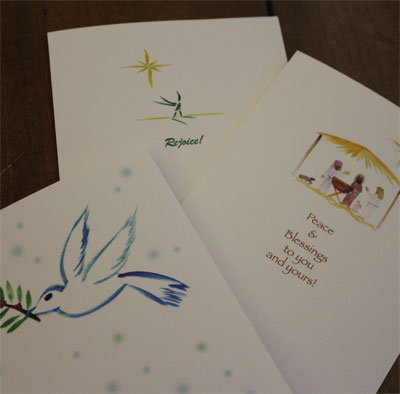 Note Card Set of 6 - Christmas_LARGE