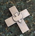 Holy Spirit Cross with Dove THUMBNAIL