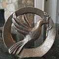 Holy Spirit of Peace Dove Standing Plaque THUMBNAIL