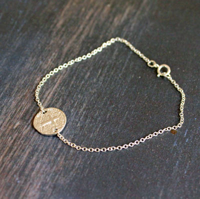 Tiny Cross Bracelet