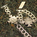Handcast Silver Guardian Angel Bracelet Mini-Thumbnail