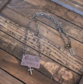 Amazing Grace Necklace with Cross THUMBNAIL