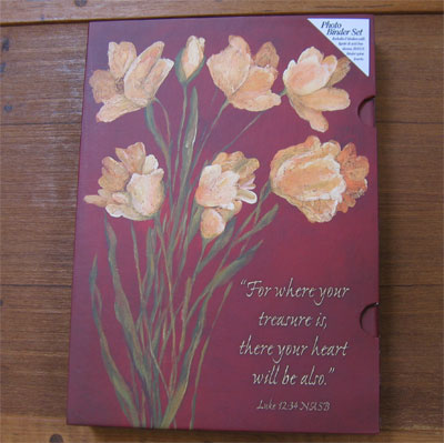 Photo Binder Set - Luke 12:34 LARGE