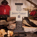 "10"" Jesus Christ is the Foundation Cross"