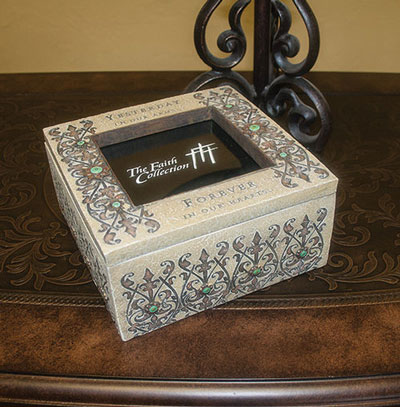 Forever in Our Hearts Bereavement Memorial Box