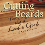 Personalized Scripture Cutting Boards