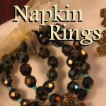 Cross Napkins Rings