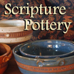 Handcrafted Scripture Pottery