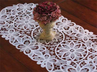 Crystal Lace Table Runner