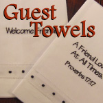 Inspirational Guest Towels