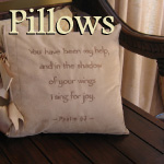 Decorative Scripture Pillows