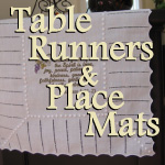 Scripture Table Runner