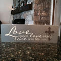 Elements of Faith Candle - 13x4 - Love is patient… love is kind…_THUMBNAIL