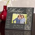 Personalized Pretty Paisley Frame for Mother