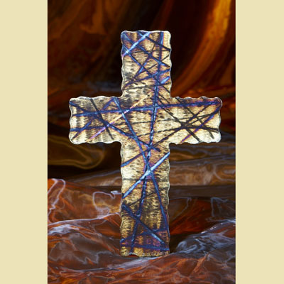 "8"" Passion Wall Cross - Handcrafted in Steel LARGE"