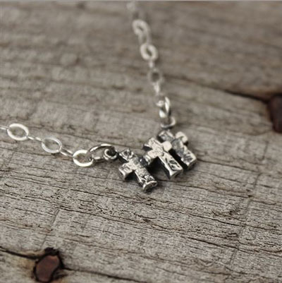Promise Necklace - Sterling Silver LARGE