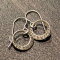 So Blessed Sterling Silver Earrings