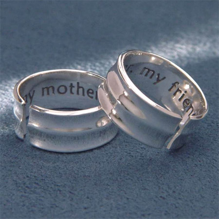 My Mother, My Friend Cuff Ring