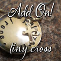 REST. PEACE. HOPE. Matthew 11:28 Sterling Silver Necklace Mini-Thumbnail