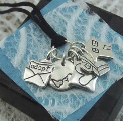 Adoption Story Necklace LARGE