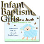 Baby Baptism Gift Ideas such as personalized blankets, wall crosses, personalized tiles & Plate, and so much more.