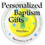 Personalized Infant Baptism Gift Ideas