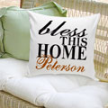 Bless This Home Personalized Pillow THUMBNAIL