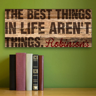 The Best Things in Life Personalized Canvas_LARGE