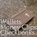 Wallets, Money Clips & Checkbooks