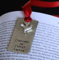 Confirmation Pewter Bookmark
