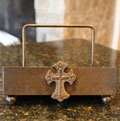 Wrought Iron Cook Book Stand THUMBNAIL