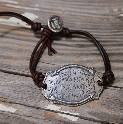 Dignity and Strength... Sterling Silver Bracelet_LARGE