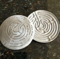Labyrinth Dish by Cynthia Webb - Be Still and Know that I am God_THUMBNAIL
