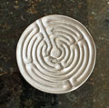Labyrinth Dish by Cynthia Webb - Be Still and Know that I am God Mini-Thumbnail